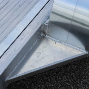 Extended Aluminum Open Car Hauler