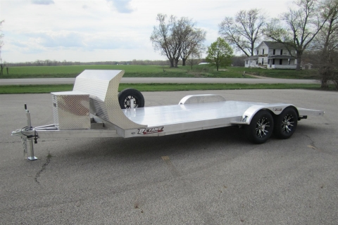 18′ ALL ALUMINUM EXTRUDED OPEN CAR HAULER