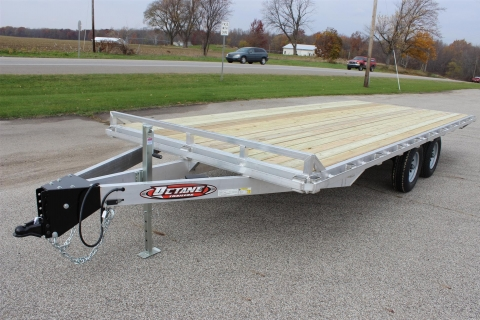 8.5×20 Deckover Open Trailer