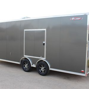 Tag Race 22' High Octane Slated Wedge Trailer