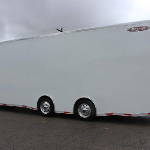 Stacker 32' Top Fuel Stainless Top Rail Trailer