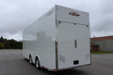 Stacker 32′ Top – Fuel Elite Stainless Top Rail Trailer