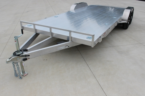 7′ X 18′ ALL ALUMINUM EXTRUDED OPEN CAR HAULER
