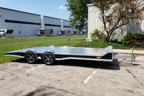 8.5′ X 20′ OPEN ALUMINUM EXTRUDED CAR HAULER