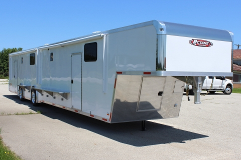 gooseneck 53′ Top-Fuel Ultra Trailer