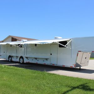 gooseneck 53' top-fuel ultra trailer