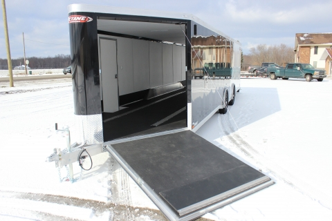 Transport Your Snowmobile Safely Using a Custom Trailer