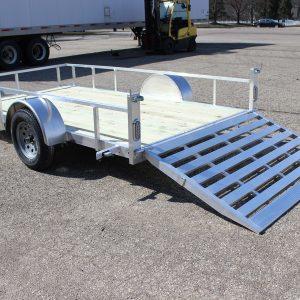 6.5x12 aluminum utility trailer