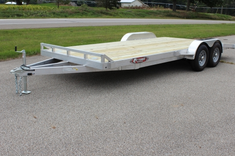 Open 20′ Wood Deck Car Hauler