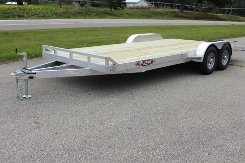Open 20′ Wood Deck Car Hauler