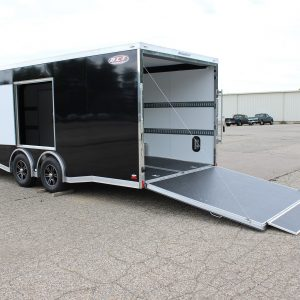 tag race nitrous car hauler trailer